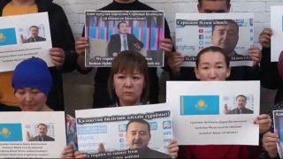 세이라굴 수잇베이와 세리크잔 빌라시가 중국 카자흐족에 대한 잔혹 행위 자유롭게 비판할 수 있도록 해야