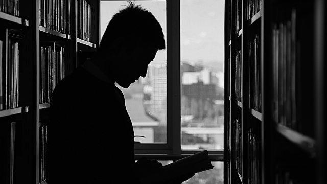 책 읽은 남자